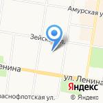 Министерство иностранных дел РФ на карте Благовещенска