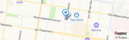 Велес на карте Благовещенска