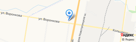 Шина-сервис на карте Благовещенска