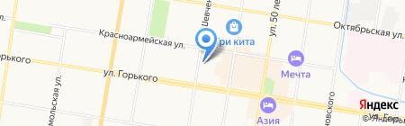 Мебель от Рязанова на карте Благовещенска