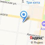 Адвокатский кабинет Марич О.Н. на карте Благовещенска