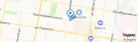 Магазин мужской обуви на карте Благовещенска