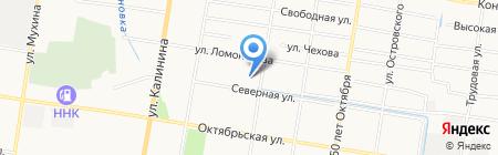 Амурвет на карте Благовещенска