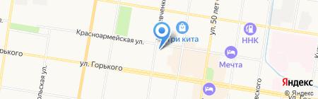 DONBASS на карте Благовещенска