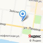 РЭУ №14 на карте Благовещенска