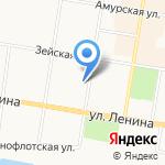 Государственный архив Амурской области на карте Благовещенска