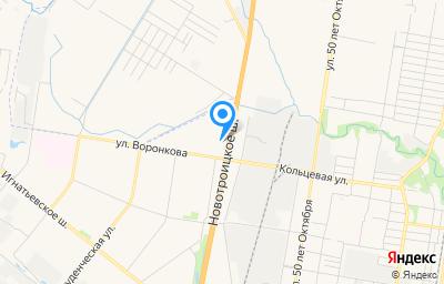 Местоположение на карте пункта техосмотра по адресу г Благовещенск, ш Новотроицкое, д 16/1