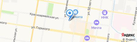 Дальмедстрах на карте Благовещенска