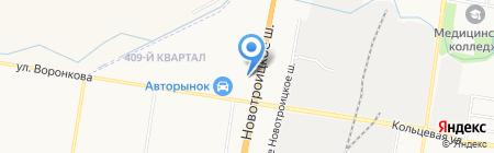 Автоимпорт на карте Благовещенска