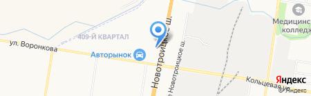 АвтоСтекло на карте Благовещенска