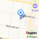 Магазин ритуальных товаров на карте Благовещенска