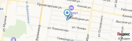 Импэкс Лидер на карте Благовещенска
