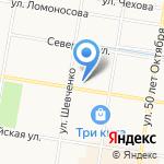 Служба аварийных комиссаров на карте Благовещенска