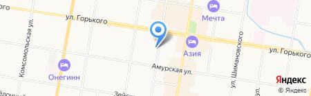 Метро на карте Благовещенска