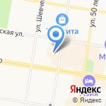 Нотариус Пшенников В.Я. на карте Благовещенска