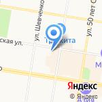 Отдел полиции №3 по обслуживанию территории Благовещенского района на карте Благовещенска