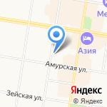 Российский детский фонд на карте Благовещенска