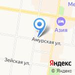 Milavitsa на карте Благовещенска