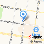 Магазин модельной женской обуви на карте Благовещенска