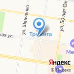Магазин штор на карте Благовещенска