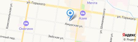 Магазин товаров для активного отдыха на карте Благовещенска