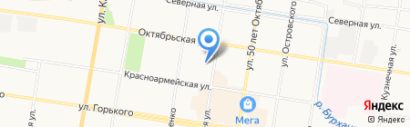 МТС на карте Благовещенска
