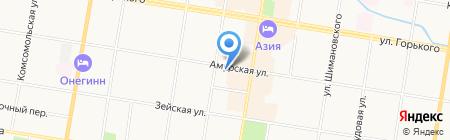 iМаг на карте Благовещенска