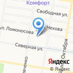 Центр изучения русского рукопашного боя на карте Благовещенска