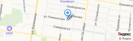 Средняя общеобразовательная школа №27 на карте Благовещенска