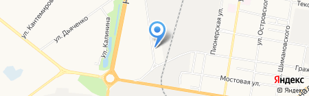 Глобус на карте Благовещенска