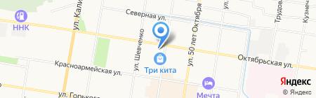 Банкомат АКБ Связь-Банк на карте Благовещенска