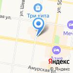 Салон мобильной связи на карте Благовещенска