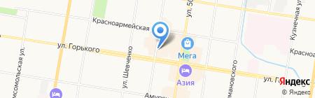 Атик на карте Благовещенска