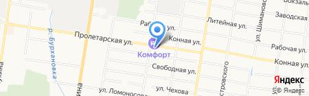 Авторесурс на карте Благовещенска