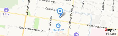 Хуафу на карте Благовещенска