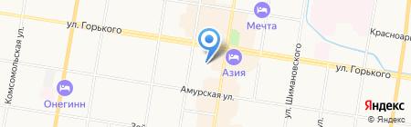Компания +1 на карте Благовещенска