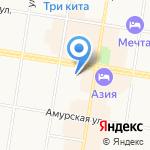 Прогимназия города Благовещенска на карте Благовещенска