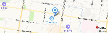 Ювентус на карте Благовещенска