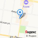 Управление МВД России по Амурской области на карте Благовещенска