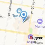 el trend на карте Благовещенска