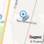 Магазин обоев на карте Благовещенска