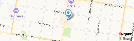 Shopping Blag на карте Благовещенска
