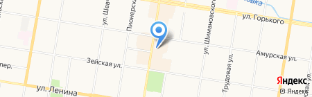 Инь-Ян на карте Благовещенска