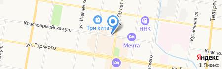 Лукоморье на карте Благовещенска