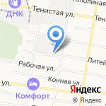 Объединенная текстильная компания-Благовещенск на карте Благовещенска