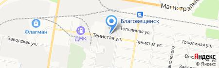 ИнтимоАморе на карте Благовещенска