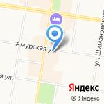 Министерство лесного хозяйства и пожарной безопасности Амурской области на карте Благовещенска