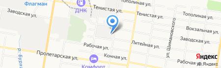 Обол-1 на карте Благовещенска