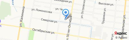 REM AUTO на карте Благовещенска