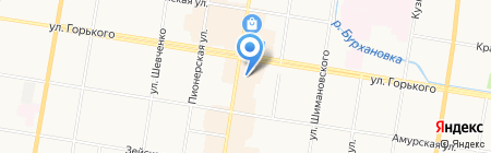 Fabiani на карте Благовещенска